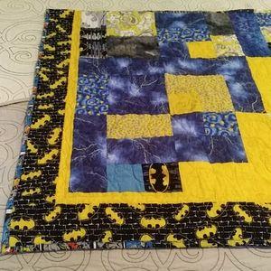 💥 Handmade Batman Quilt
